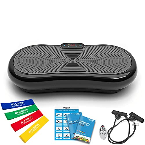 Bluefin Fitness Vibration Plate Ultra Slim 1000 Watts with Bluetooth Speakers from Crazy Fit Massage