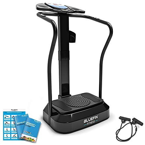 Bluefin Fitness Upgraded 2017 Vibration Plate with Built-in Speakers from Bluefin Fitness