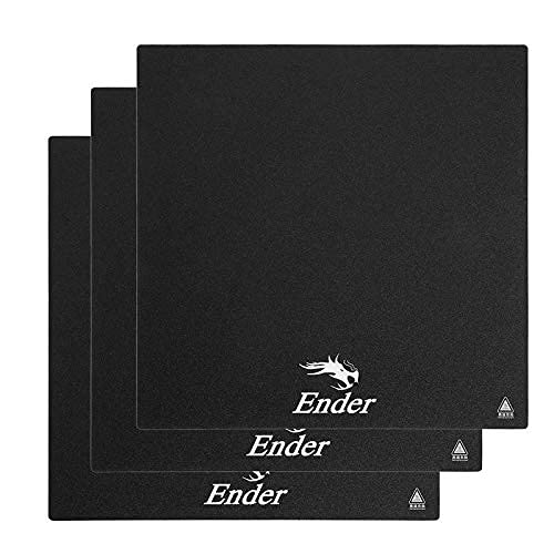 3 * Creality 3D Ender 3 Orginial Build Surface Plate Sticker Sheet, Ender 3 Pro Heated Bed Replacement Tape for Creality 3D Printer CR-20 Size of 235 * 235mm from Creality 3D