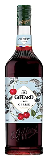 Giffard Syrup - 1L Cherry from Cream Supplies