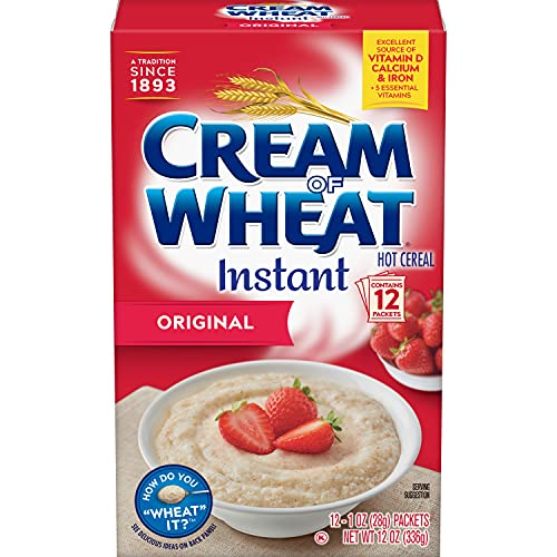 Cream of Wheat Instant Hot Cereal 12oz 340g from Cream of Wheat