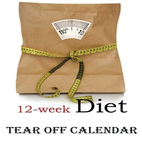 12-Week Diet Tear-Off Large Wall Calendar from CreateSpace Independent Publishing Platform