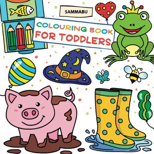 Colouring Book for Toddlers from CreateSpace Independent Publishing Platform