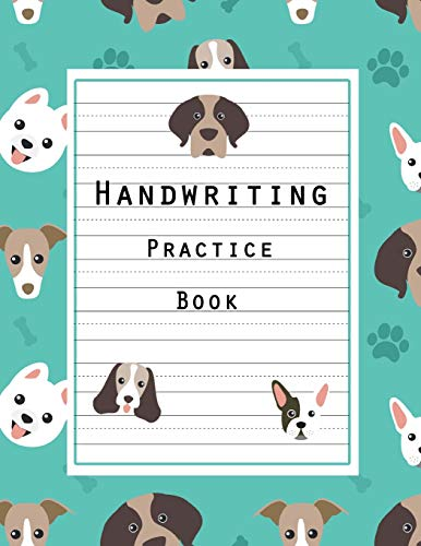 "Handwriting Practice Book: Writing Ruled, Penmanship Practice Paper Notebook Letters & Words with Dashed Center Line, Handwriting Hooked Learn, Handwriting Journal For Kids, 8.5"" x 11"" 100 Pages from CreateSpace Independent Publishing Platform"
