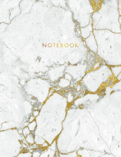 Notebook: Beautiful White Marble with Gold Inlay and Gold Lettering - Marble & Gold Journal | 150 College-ruled Pages | 8.5 x 11 - A4 Size (Marble and ... - Journal, Notebook, Diary, Composition Book) from CreateSpace Independent Publishing Platform