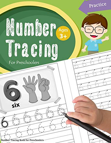 Number Tracing Book for Preschoolers: Number tracing books for kids ages 3-5,Number tracing workbook,Number Writing Practice Book,Number Tracing Book. Learning the easy Maths for kids: Volume 2 from CreateSpace Independent Publishing Platform