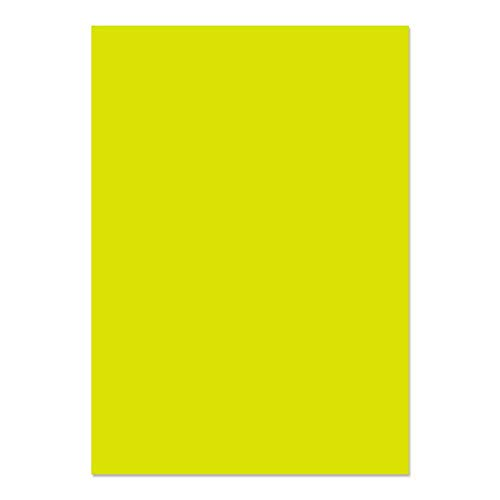 Blake Creative Colour A4 210 x 297 mm 120 gsm Paper (86441) Acid Green - Pack of 50 from Blake