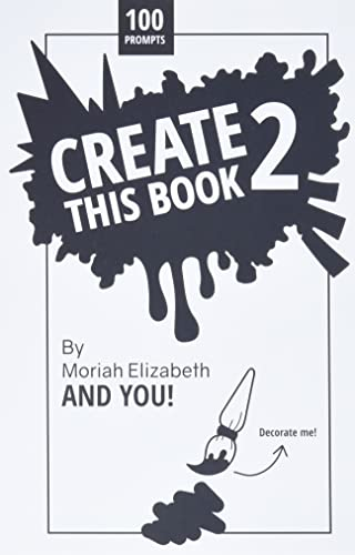 Create This Book 2: Volume 2 from Creative Outlet