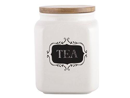 Creative Tops Creative Bake Stir It Up Ceramic Tea Jar, Off White from Creative Tops