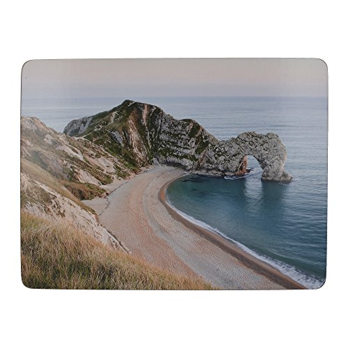 Creative Tops 'Durdle Door' Premium Cork-Backed Placemats, 30 x 23 cm - Multi-Colour (Set of 6) from Creative Tops