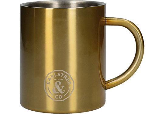 "Creative Tops ""Earlstree & Co."" Small Stainless Steel Can Mug - Brass from Creative Tops"