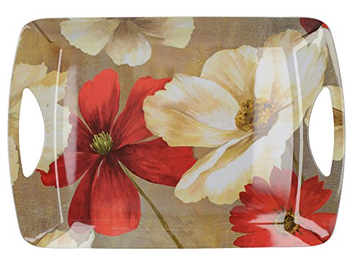 "Creative Tops ""Flower Study"" Luxury Serving Tray by, 47 x 32 cm (18½"" x 12½"") from Creative Tops"