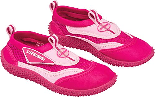 Cressi Coral Water Shoes, Fuxia/Pink, EU 34-UK 2 Kids from Cressi