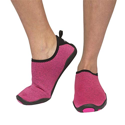 Cressi Unisex Black Aqua Socks Lombok Water Shoes, Pink, UK 7 / EU 40 from Cressi