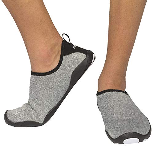 Cressi Unisex Black Aqua Socks Lombok Water Shoes, White, UK 4 / EU 36 from Cressi