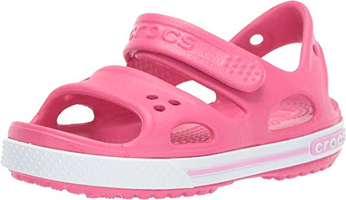 Crocs Kids' Crocband Ii Sandal, Pink (Paradise Pink/Carnation), 3 UK from Crocs