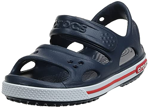 Crocs Crocband II PS Unisex Kids' Sandals - Navy/White, 9 UK Child (25-26 EU) (25-26 EU) from Crocs