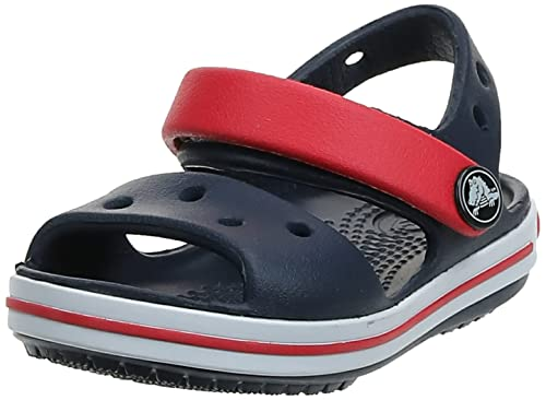 Crocs Crocband  Child Sandals - Blue (Navy/Red),2 UK (33-34 EU) from Crocs