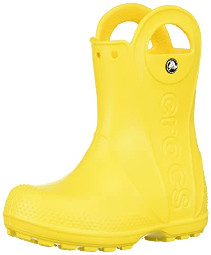 Crocs Unisex Kids' Handle It Rain Boot K (Yellow), 1 UK Junior 1 (32/33 EU) from Crocs