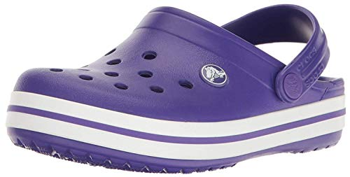 Crocs Unisex Kid's Crocband Clog K, Purple (Ultraviolet-White 50L),  4 UK Child (19-20 EU) from Crocs