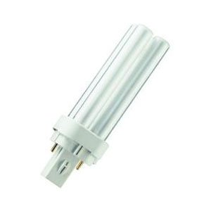 Crompton Compact Fluorescent 'D' type 2 Pin CLD10SCW - 4000k, Cool White from Crompton