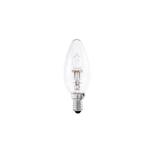 10x Dimmable Energy Saving Halogen Candle 42w (Equivalent to 60w) SES (E14) . from Crompton