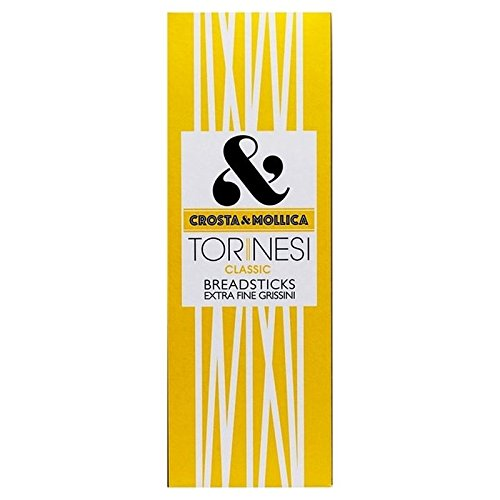 Crosta & Mollica Thin Torinesi Breadsticks 120g - Pack of 2 from Crosta & Mollica
