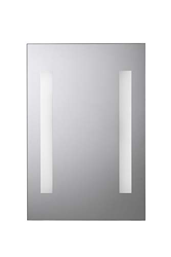 Croydex Malham Illuminated Rectangular Mirror with Two LED Light Strips from Croydex