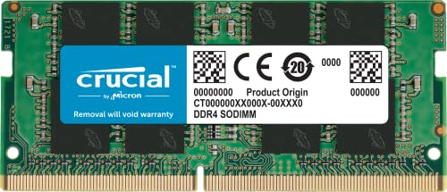 Crucial CT8G4SFS824A 8 GB (DDR4, 2400 MT/s, PC4-19200, Single Rank x8, SODIMM, 260-Pin) Memory from Crucial