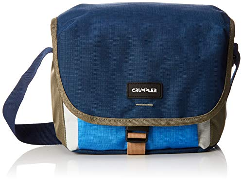 Crumpler 2.0 Proper Roady Sling Camera Bag with 9.7-Inch Tablet Compartment - Blue/Warm Grey from Crumpler