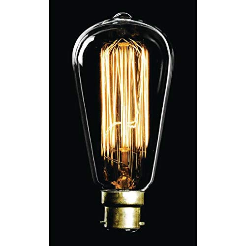 Crystalite Antique Bulb, B22d (Bayonet Cap) from Crystalite