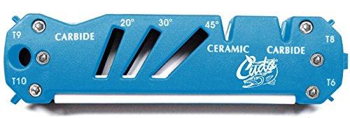 Cuda Knife Shear and Hook Sharpener - Blue from Cuda