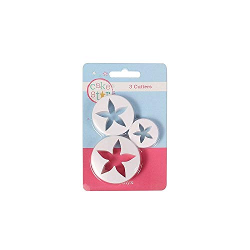 CULPITT - Cutter Set - Calyx Flower Cutters set of 3 from Culpitt