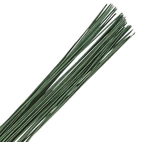 Culpitt 28 Gauge Dark Green Florist Wires - Sugar Flowers from Culpitt