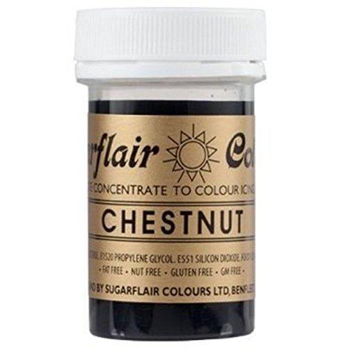Sugarflair Paste Colour - Spectral Chestnut 25g from Culpitt