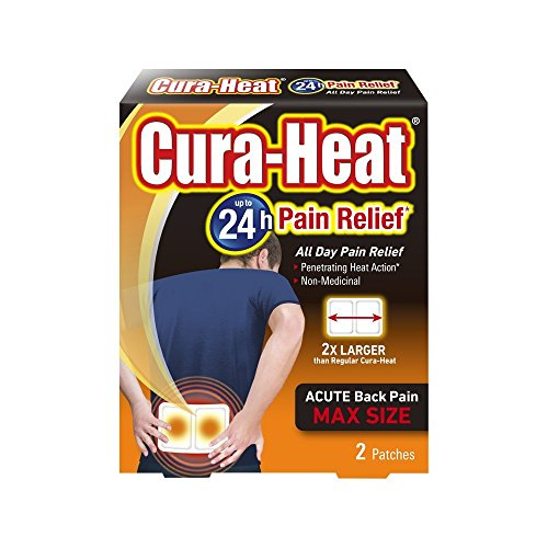 Cura Heat Back Pain Max Size Heat Pads from Cura-heat