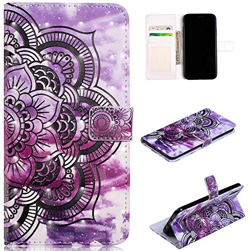 Custodia® 3D Relief Patterns Flip Wallet Case for Apple iPhone XS Max (Pattern 7) from Custodia
