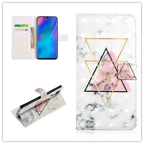 Custodia® 3D Relief Patterns Flip Wallet Case for Huawei P30 Pro (Pattern 9) from Custodia
