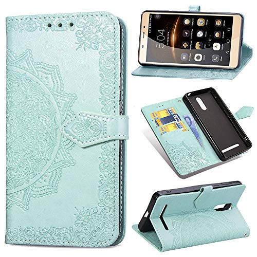 Custodia® 3D Relief Patterns Flip Wallet Case for Leagoo M8 (Pattern 2) from Custodia
