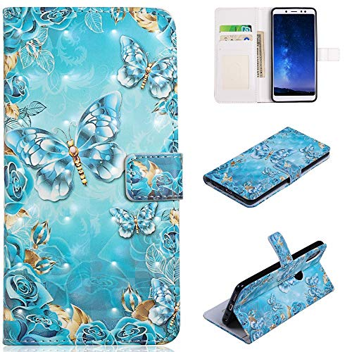 Custodia® 3D Relief Patterns Flip Wallet Case for Xiaomi Redmi Note 5 Pro (Pattern 6) from Custodia