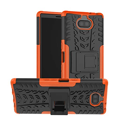 Custodia® Firmness Smartphone Case with Kickstand for Sony Xperia XA3 Ultra(Orange) from Custodia