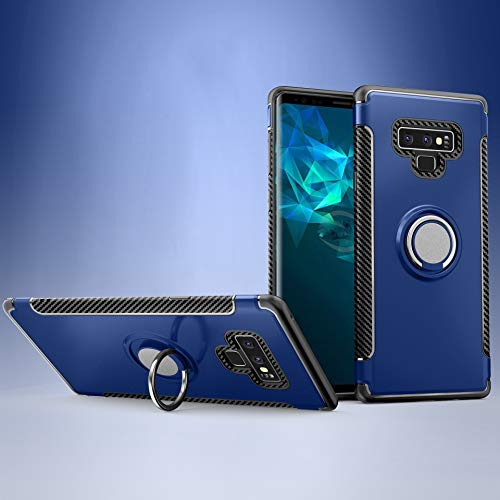 Custodia® Firmness Smartphone Case with Ring for Samsung Galaxy Note 9(Dark Blue) from Custodia