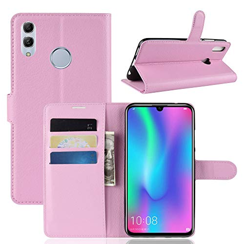 Custodia® Flip Wallet Case for Huawei Honor 10 Lite (Pink) from Custodia