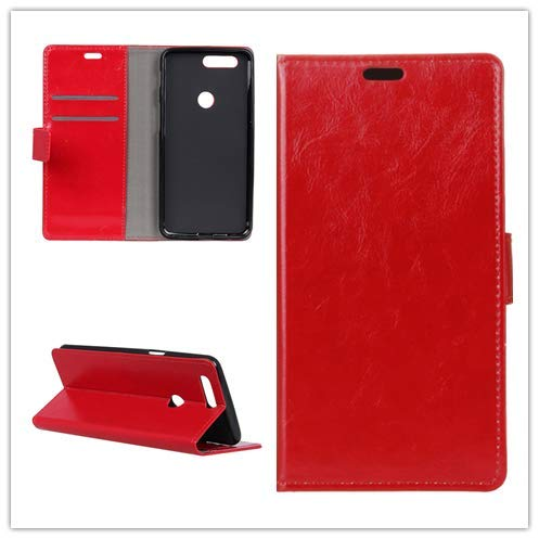 Custodia® Flip Wallet Case for Huawei Honor 9N (Red) from Custodia