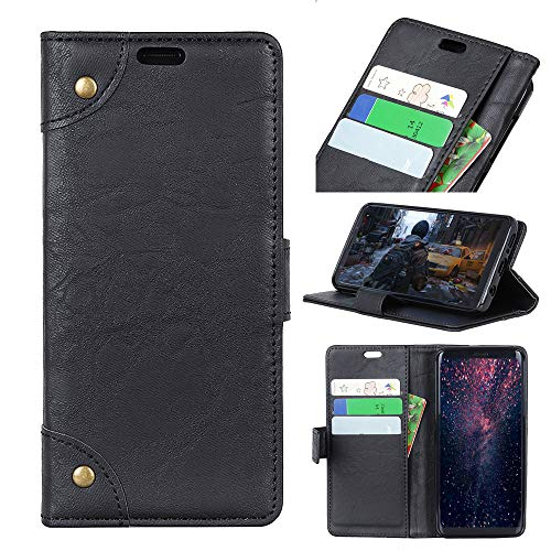 Custodia® Flip Wallet Case for Huawei Honor View 10 Lite (Black) from Custodia