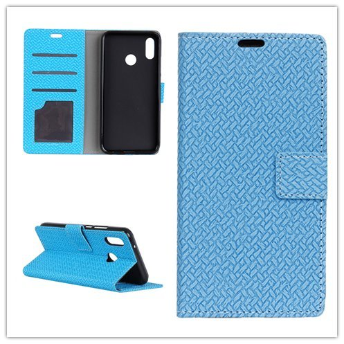 Custodia® Flip Wallet Case for Motorola P40 (Blue) from Custodia