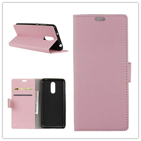 Custodia® Flip Wallet Case for NOKIA 3.1 Plus (Pink) from Custodia