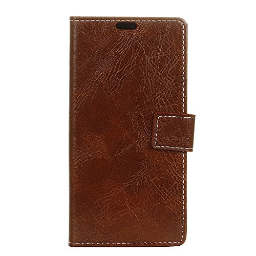 Custodia® Flip Wallet Case for Samsung Galaxy S10 (Brown) from Custodia