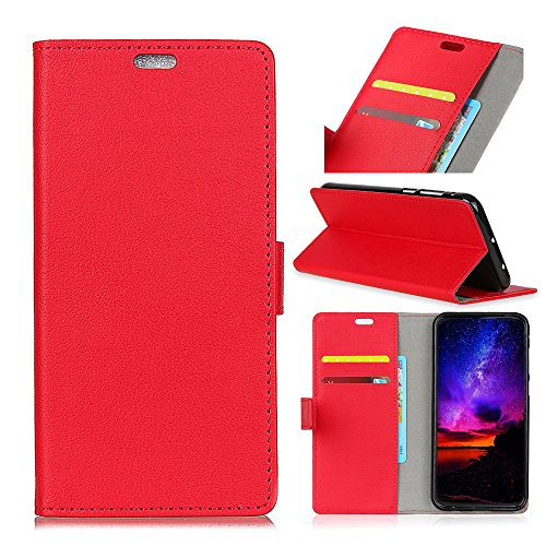 Custodia® Flip Wallet Case for Xiaomi Mi Play (Red) from Custodia