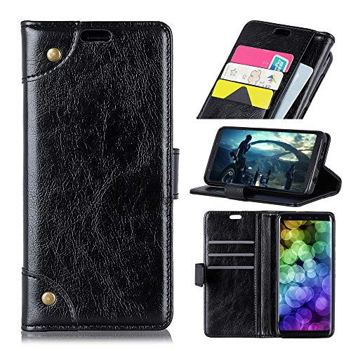 Custodia® Flip Wallet Case for Xiaomi Redmi Note 7 (Black) from Custodia